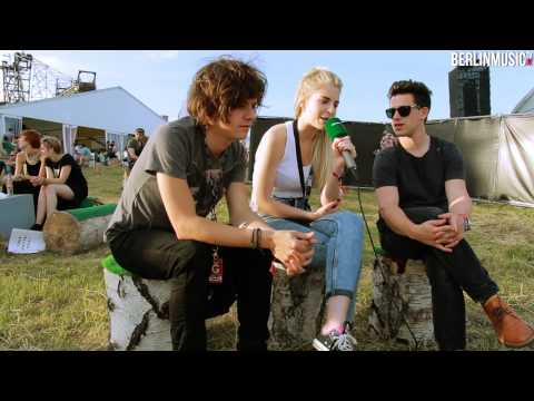 Interview: London Grammar auf dem Melt! 2013 bei BERLINMUSIC.TV