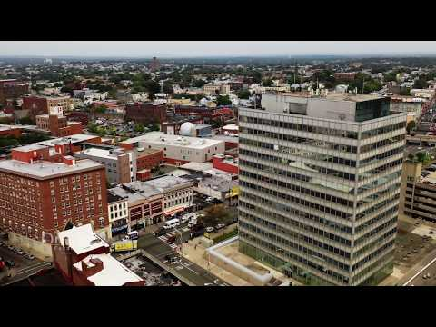 Paterson New Jersey Aerial