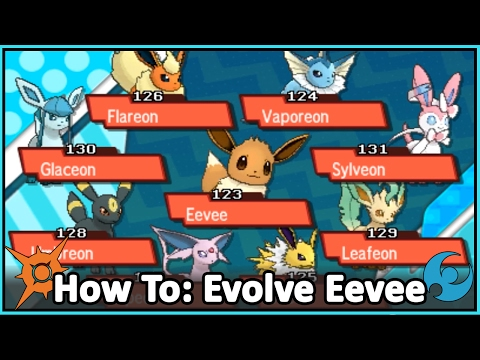 How to Evolve Eevee - A Tutorial