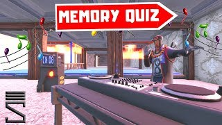 *NEW* Test YOUR Listening Skills on MEMORY QUIZ 3.0 | Fortnite Creative