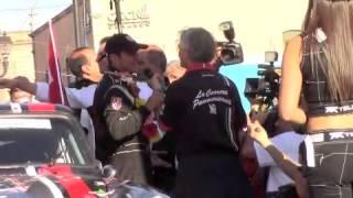 Final de La Carrera Panamericana 2014.