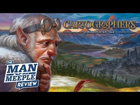 Cartographers: A Roll Player Tale Review by Man vs Meeple (Thunderworks Games)