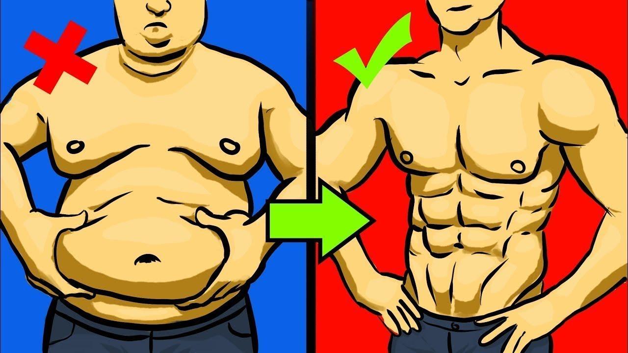 как убрать жир 1 день