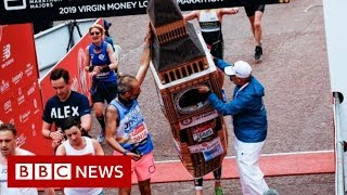 London Marathon: Time called on Big Ben costume - BBC News