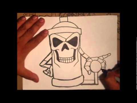 Como hacer un graffiti youtube - Plantillas infantiles para pintar paredes ...