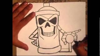 como hacer un graffiti