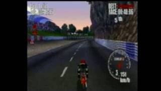 Ducati World Racing Challenge PlayStation Gameplay