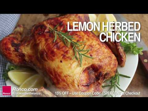 Ronco Rotisserie - Chicken Recipes