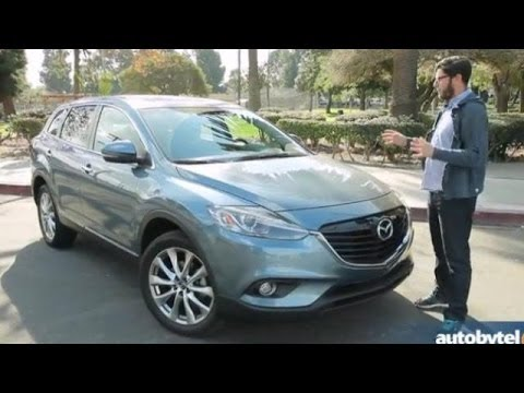 2014 Mazda CX 9 Grand Touring Test Drive U0026 7 Passenger Crossover Video  Review