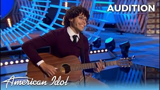 """Murphy: Songwriter Shows Off His UNIQUE Style On American Idol With Original Song """"Painted Man"""""""