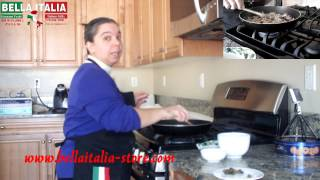 How To Prepare Italian Handmade Egg Fettuccine With Salmon Sauce