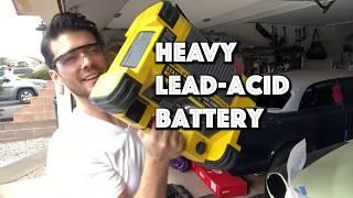 AUDEW 1000A Battery Jump Starter Review - Chevy V8