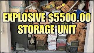 MILITARY HEAVEN! $5500.00 STORAGE UNIT I bought an abandoned storage unit and found military