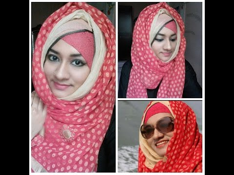 Double Sided Hijab Tutorial