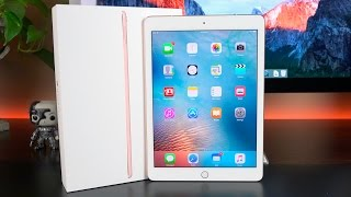 Apple iPad Pro 9 7-inch Unboxing amp Review