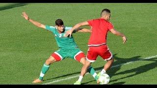 حصة مشتركة ومباراة تجريبية بين المنتخبين الأول والمحلي ـ ربورتاج فيديو