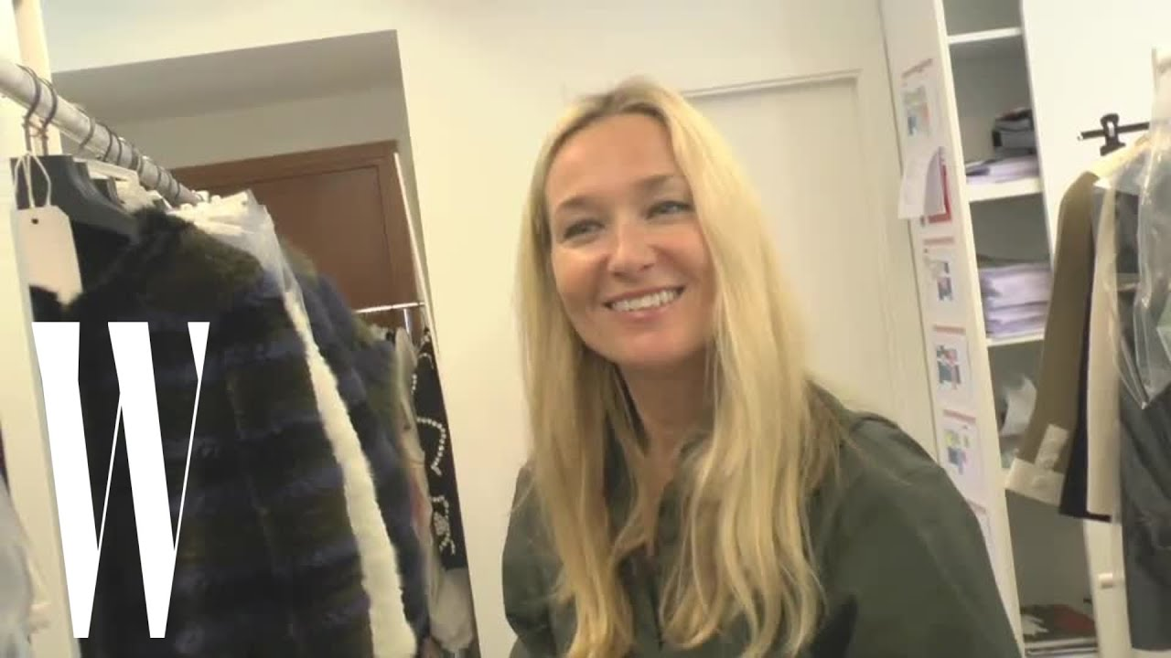 Sofia Coppola Does a Studio Visit with Julie de Libran