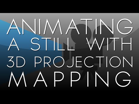 After Effects Tutorial: Animating a Still with 3D Projection Mapping