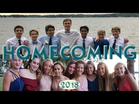 IT'S OUR HIGH SCHOOL HOMECOMING DANCE 2018