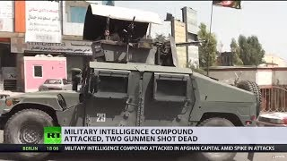 Afghanistan hit by 4 assults in 3 days: Military intel compound attacked in Kabul, 2 killed