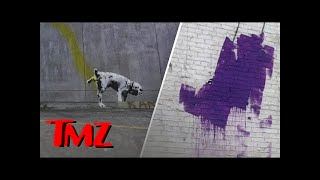 Banksy Gets Taste of His Own Medicine! | TMZ