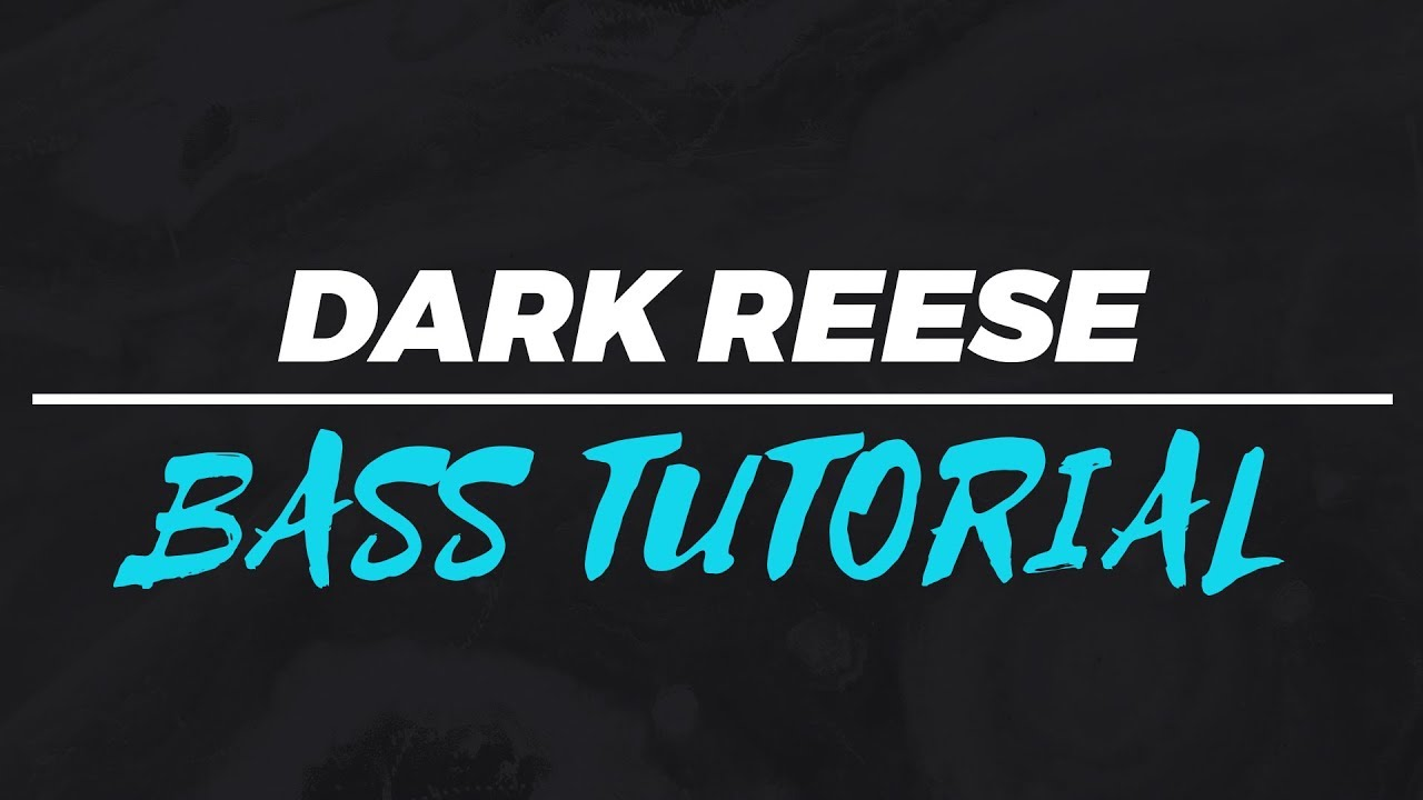 how to make a reese bass