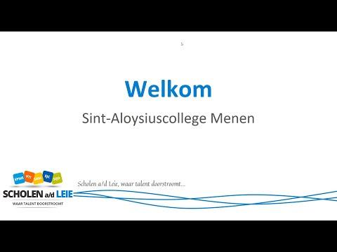 Sint-Aloysiuscollege - Uitleg
