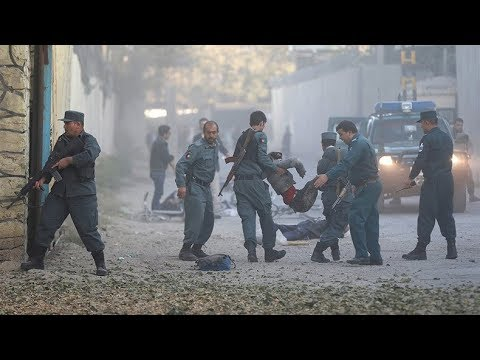 Explosion hits Kabul diplomatic zone, 14 reportedly killed