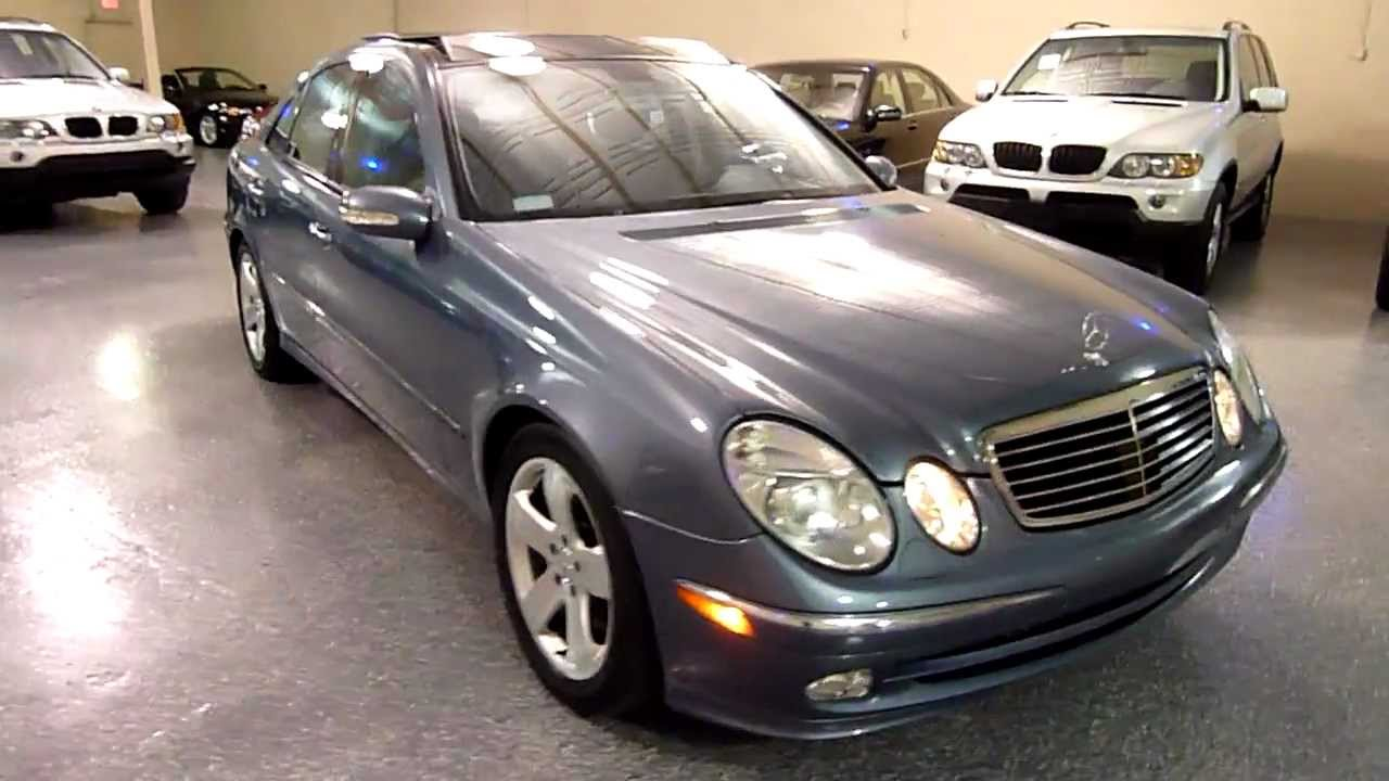 Image gallery 2003 e500 sport for Mercedes benz e500 2003
