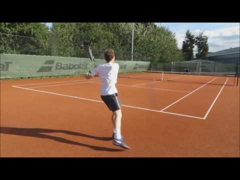Miles Plays Matt Porter at Tennis (1-6) (1-6) on 21st August 2016 at Redbridge Sports Centre
