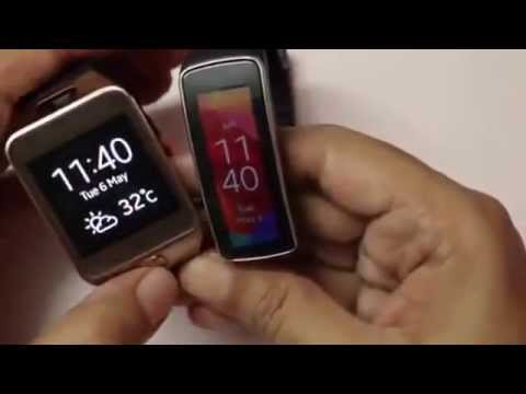 Samsung Gear Fit Fitness Tracker Review: The Fitness Band with Heart Rate Monitor o))))