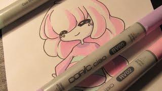 Watch Me Draw: Frisk (UNDERTALE) 3 Marker challenge || PenguinEsk ||
