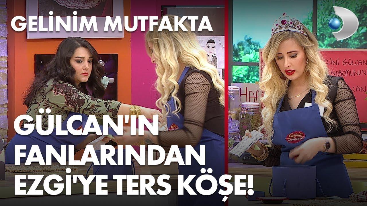 Gülcan'ın fanlarından Ezgi'ye ters köşe! Gelinim Mutfakta 269. Bölüm