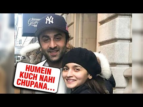 Alia Bhatt & Ranbir Kapoor Enjoy Winter TOGETHER In New York