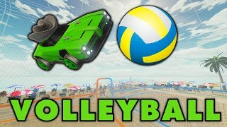 CRAZY Rocket League Volleyball Moments!