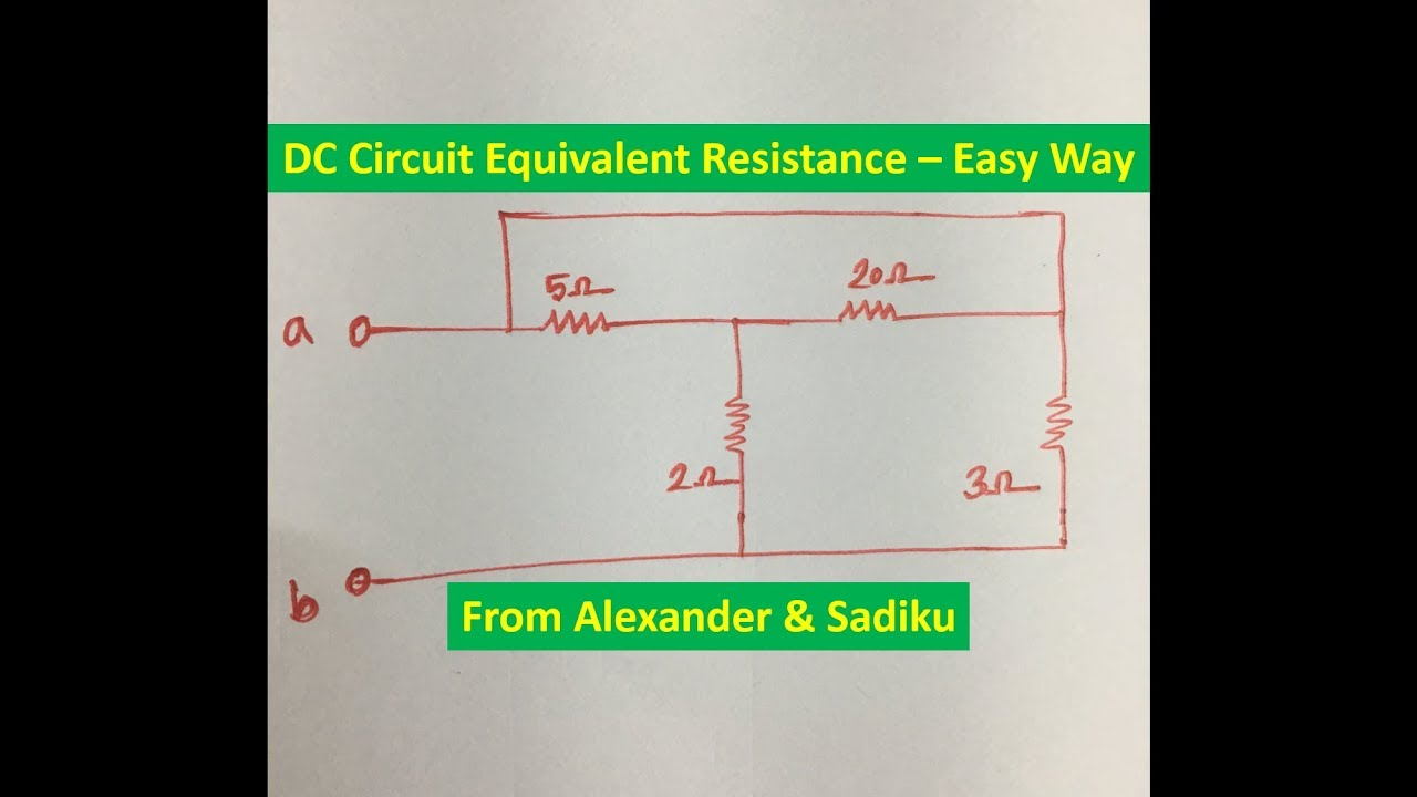 How Do I Solve A Series Parallel Circuit Youtube