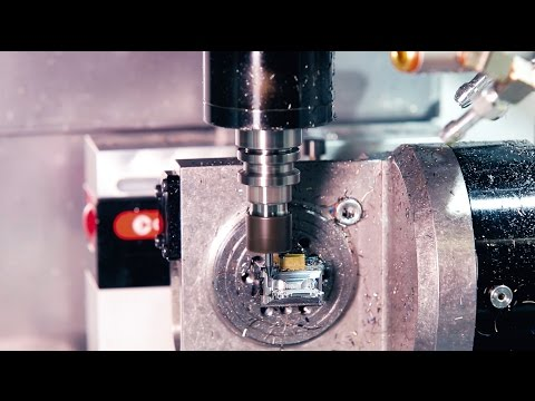 The New Haas CM-1 Compact Mill from Haas Automation