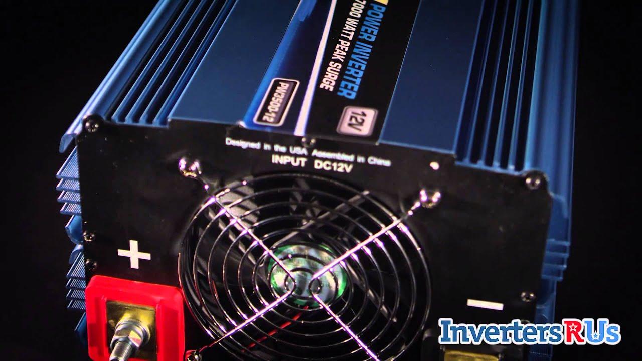 Power Bright Pw3500-12 3500 Watt Power Inverter