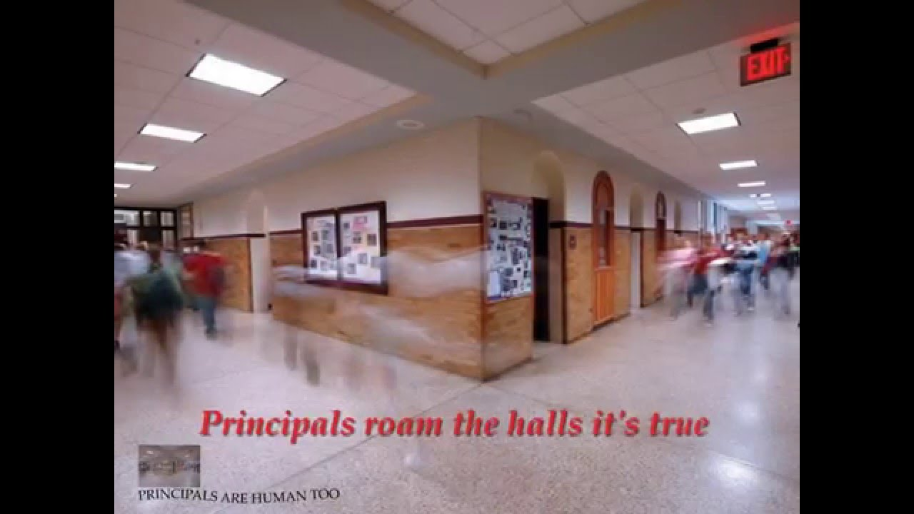 Poems For Principals Appreciation- Principals Are Humans Too - YouTube