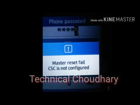 Samsung GT-C3312 HARD RESET CODE NUMBER {Technical Choudhary}