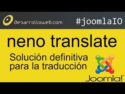 Neno Translate: solución definitiva para la traducción #joomlaIO