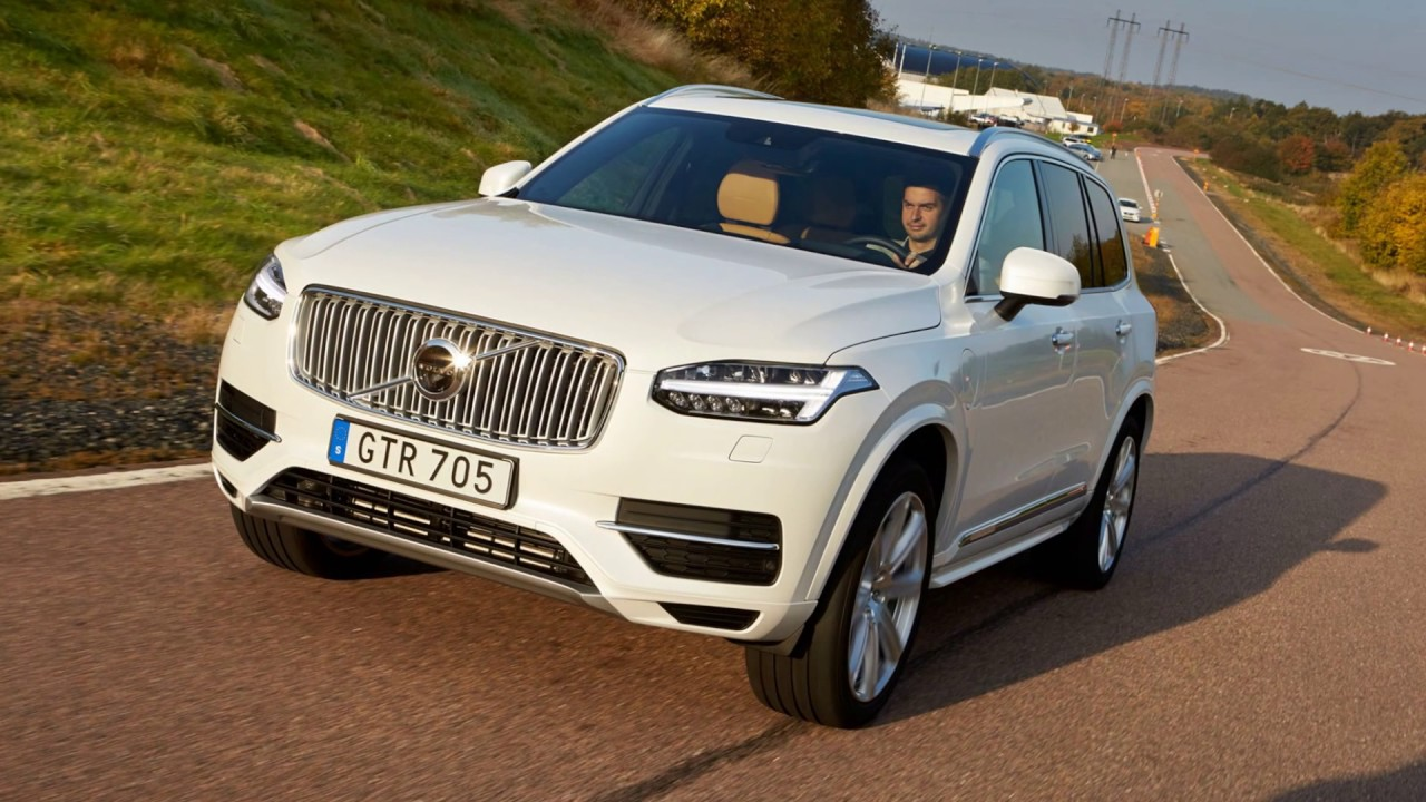 New Volvo Xc90 T8 2017 Hybrid Excellence