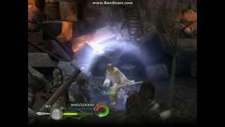 El señor de los anillos el retorno del rey PC GAMEPLAY (funcionando  en Win XP)