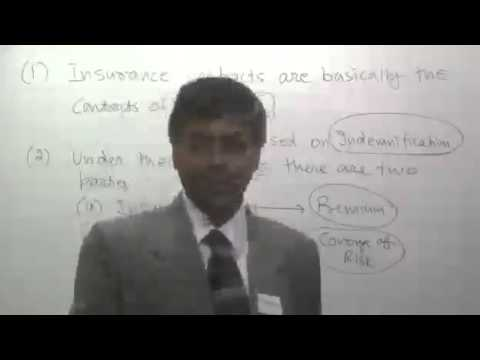 Insurance claim lectures CMA, CA,  lecture-1