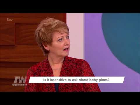 Jane Regrets Asking Delia Smith About Having Children  Loose Women