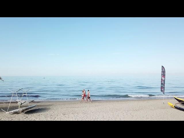 La Vela BeachClub a Lido di Camaiore - La tranquillità del mattino