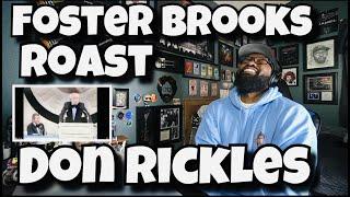 Foster Brooks Roast Don Rickles   REACTION