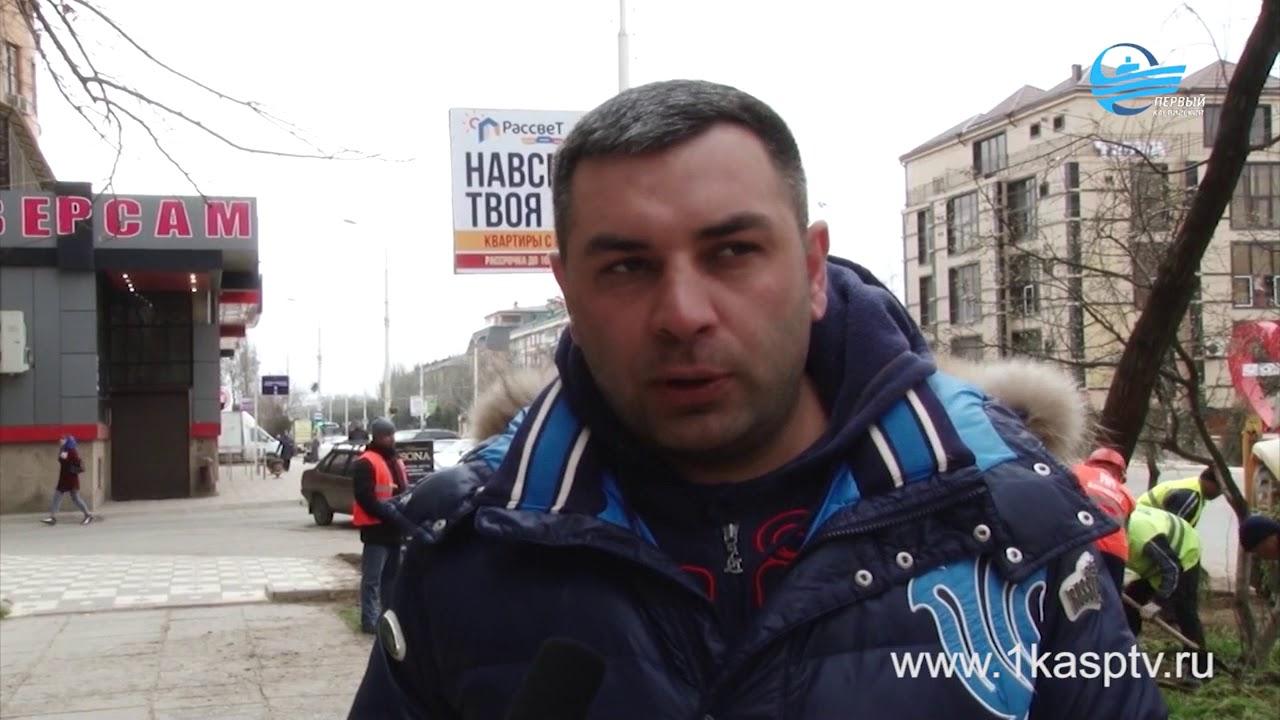 Акция по благоустройству и наведению чистоты в городе продолжается! После очередного субботника преобразились еще несколько районов  Каспийска!