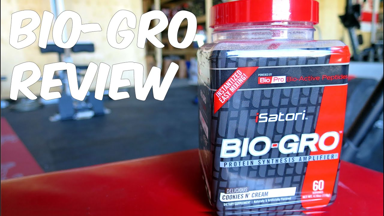 Isatori Bio-Gro Supplement Review