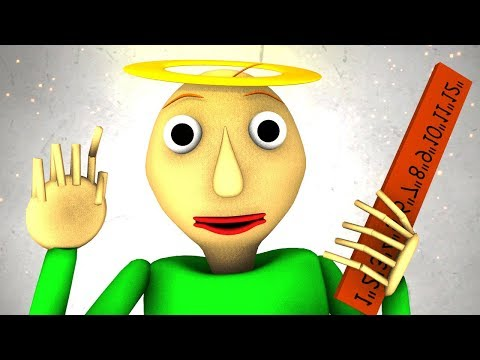 Рай Балди (Baldi's Basics 3D анимация)